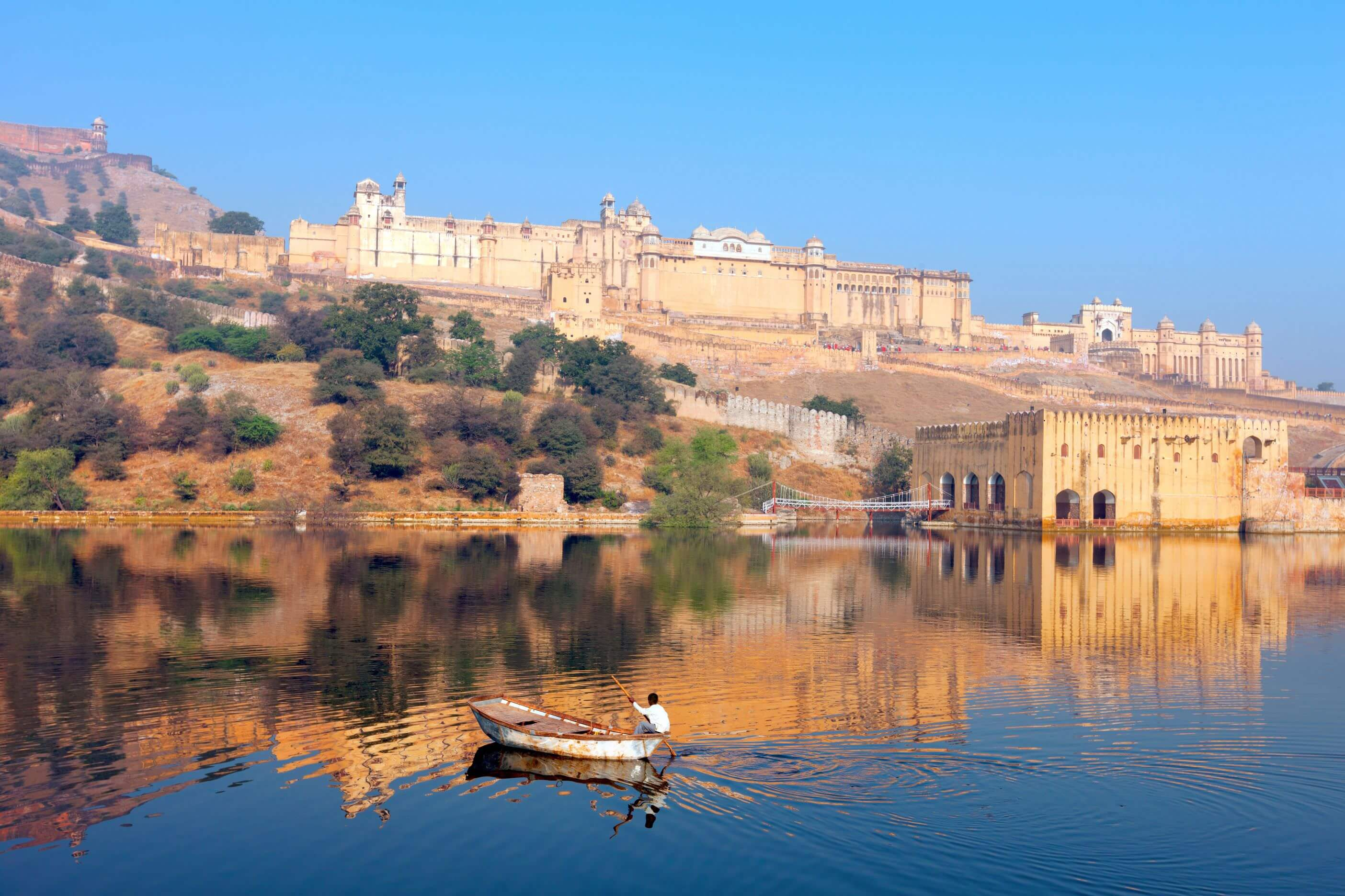 Local Area Maota Lake Amber Fort