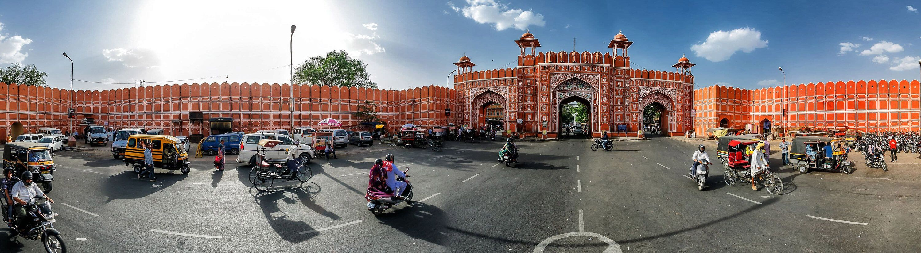 Local Area Gate Pink City