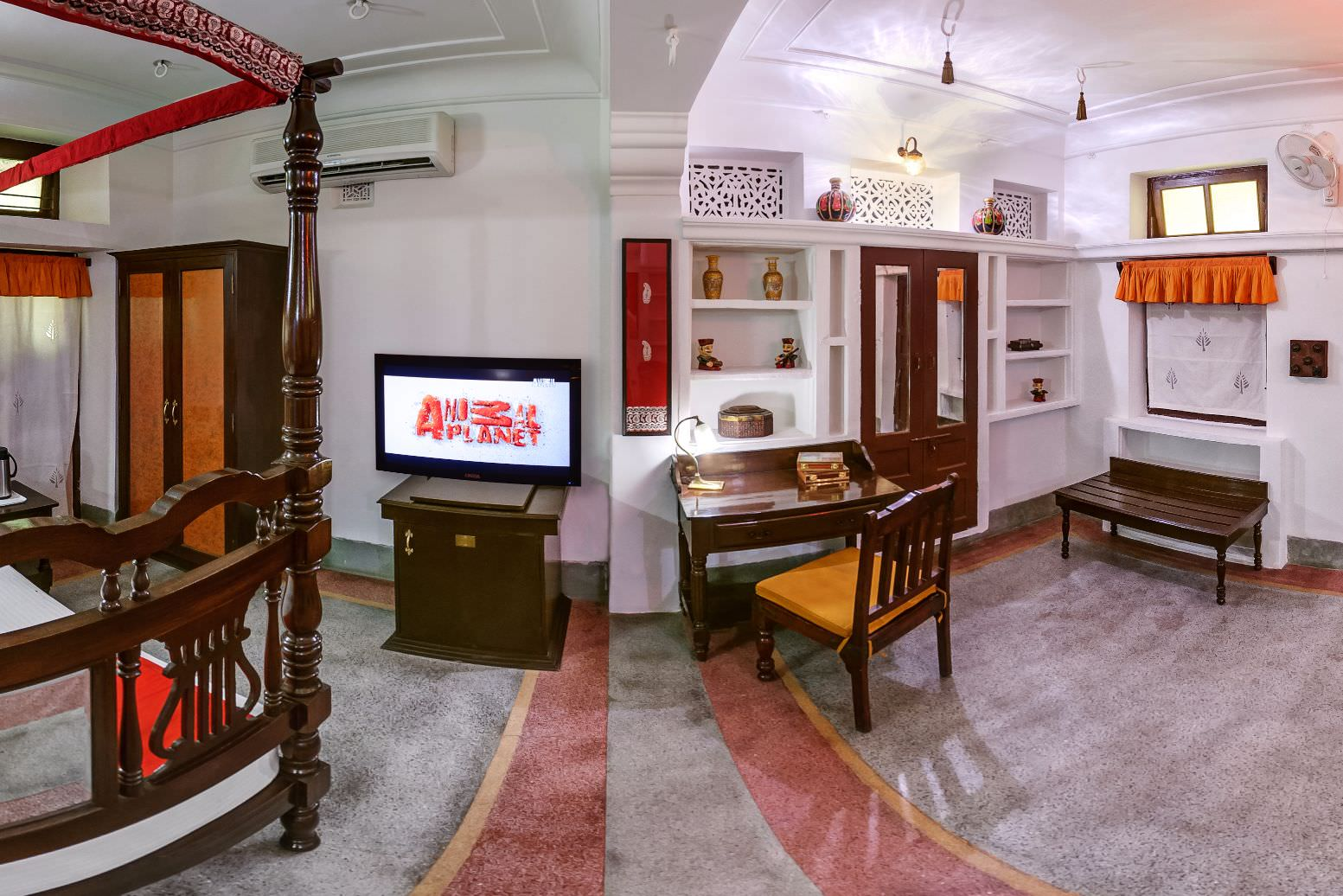 Red Deluxe Room