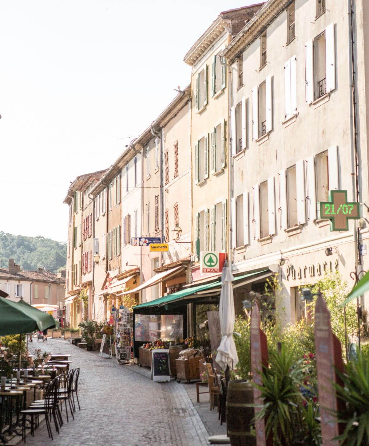 Local Area Shops Restaurants