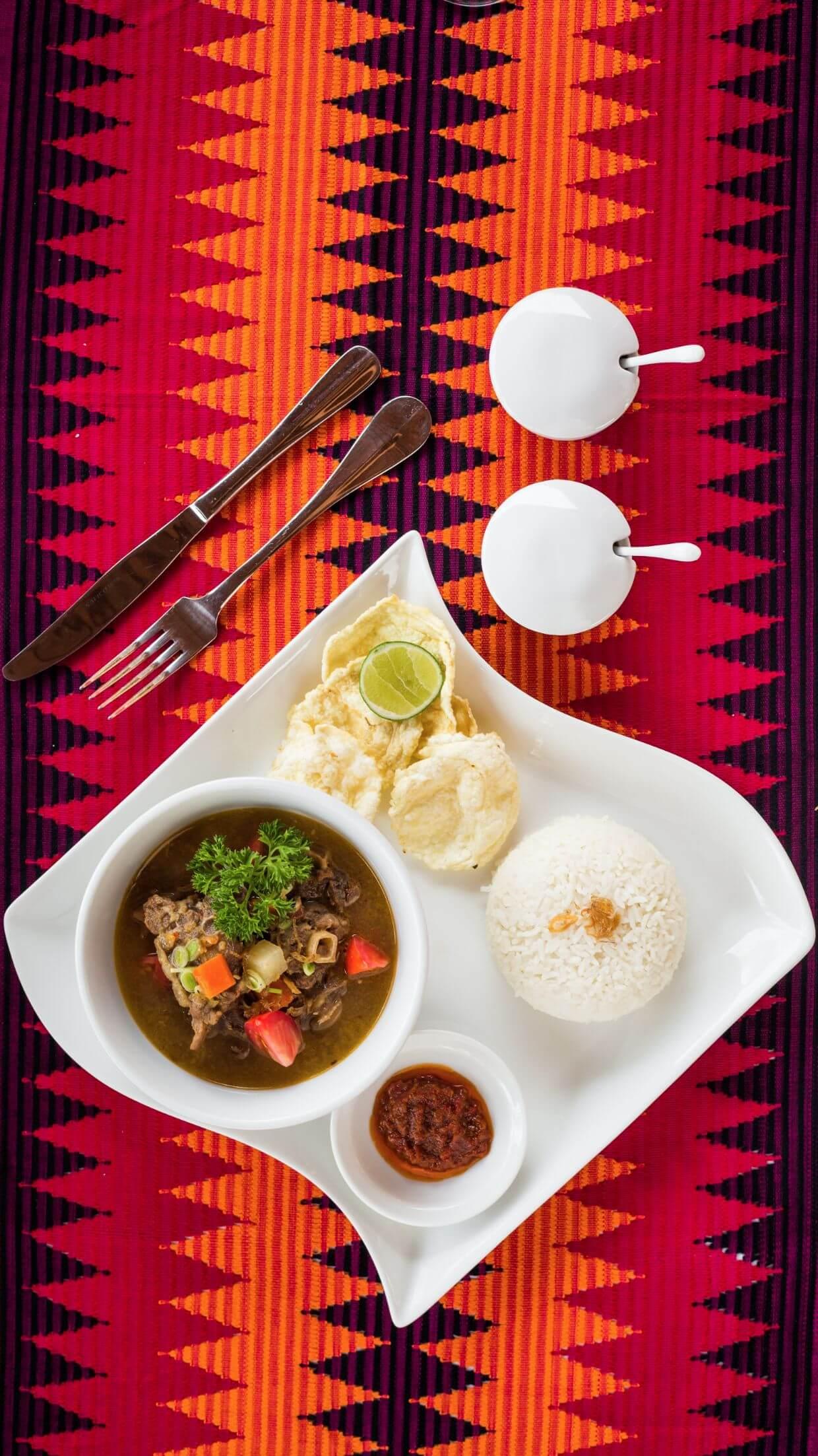 Karma Mayura cuisine