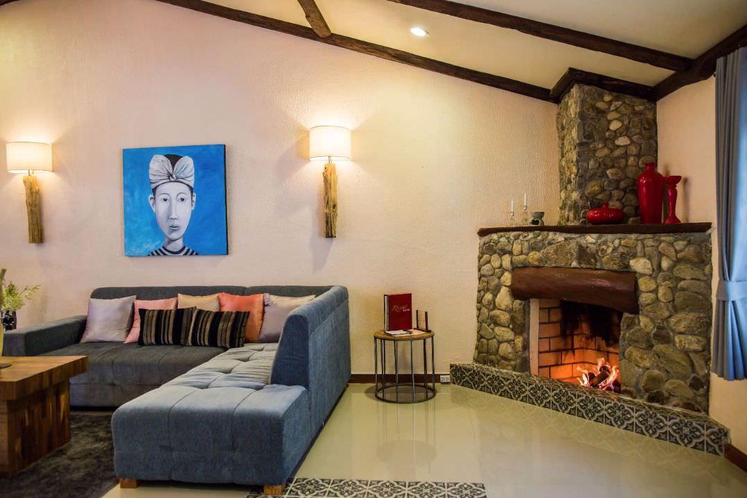 Accommodation Open Fireplace