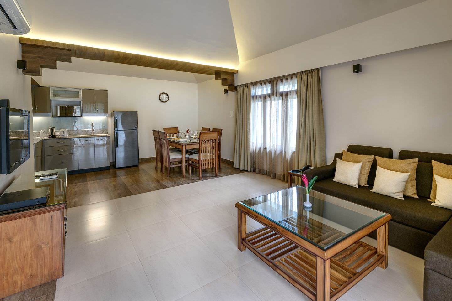 Karma Royal Palms Accommodation Imperial Apartment Lounge Area