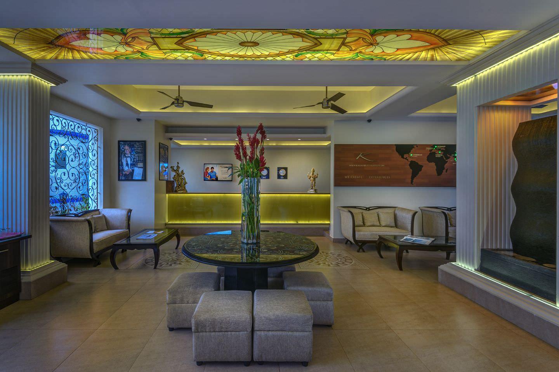 Karma Royal Palms Reception Area
