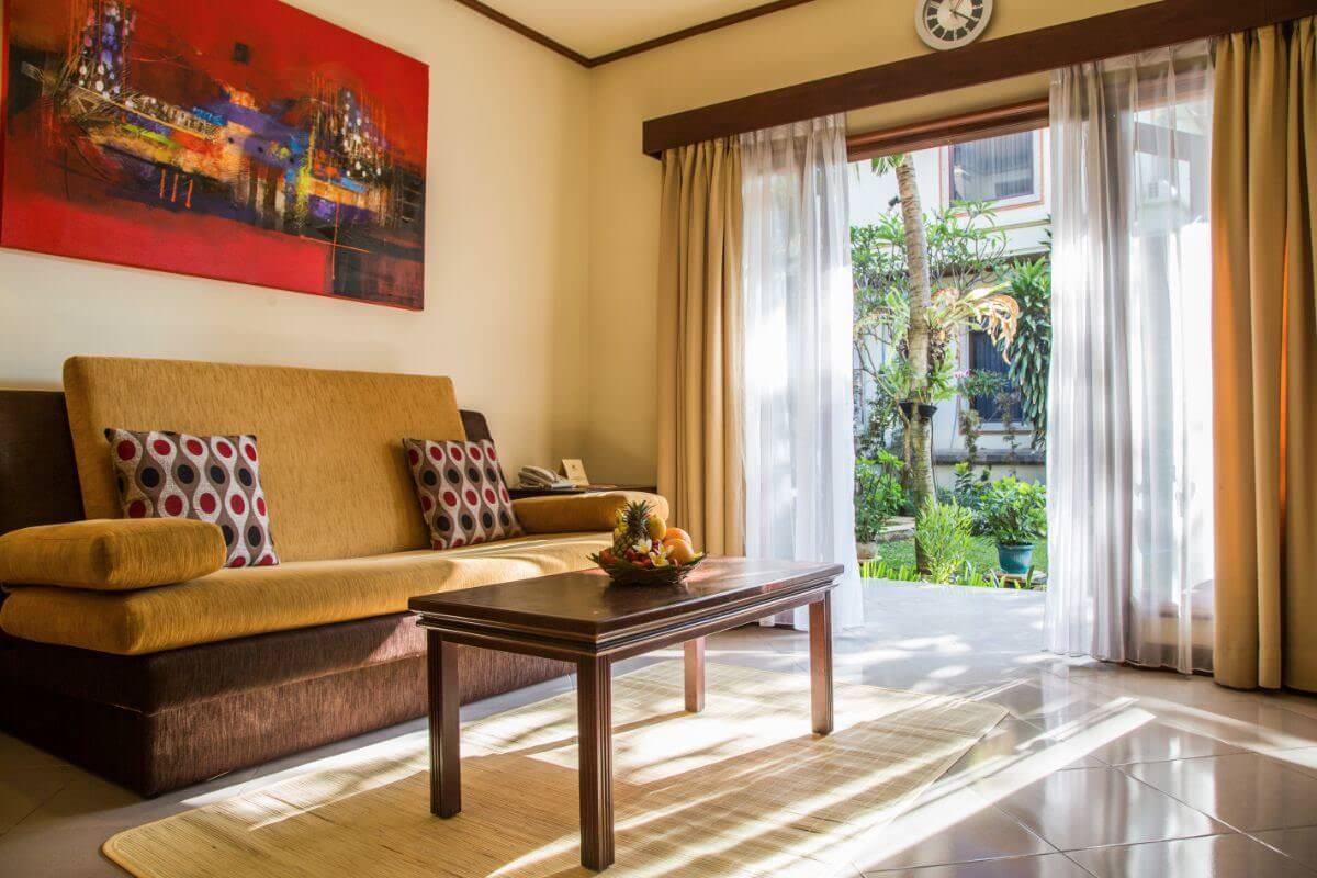 Karma Royal Sanur Accommodation Lounge Area