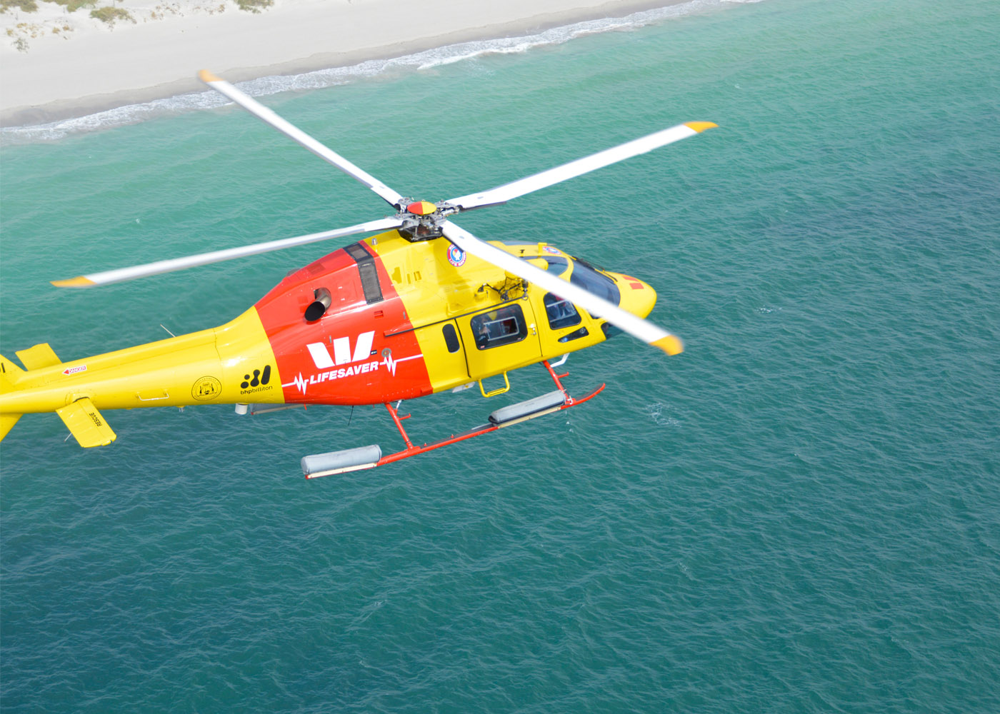 Westpac's Lifesaver Rescue Helicopter