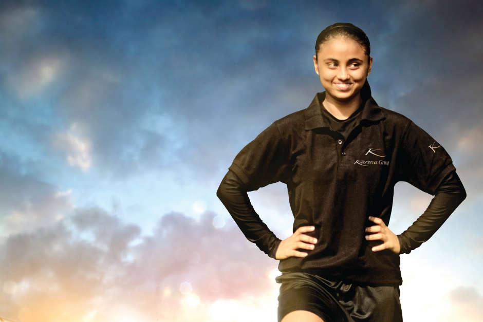 Somaaya Mukundan, Indian football player, India