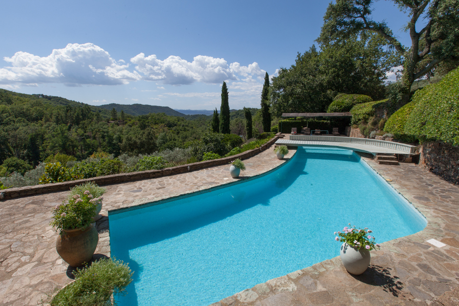 Pool at Le Preverger, St Tropez, a Karma Estate