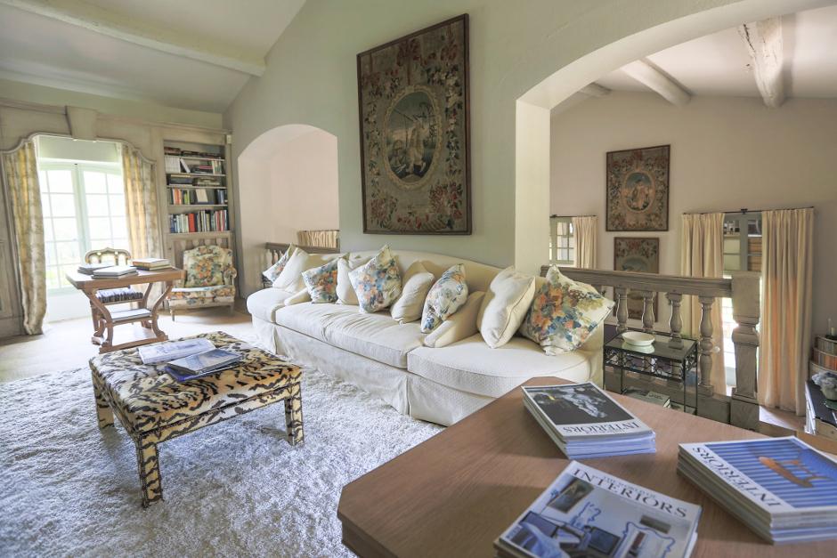 Le Preverger sitting room, St Tropez, France, a Karma Estate