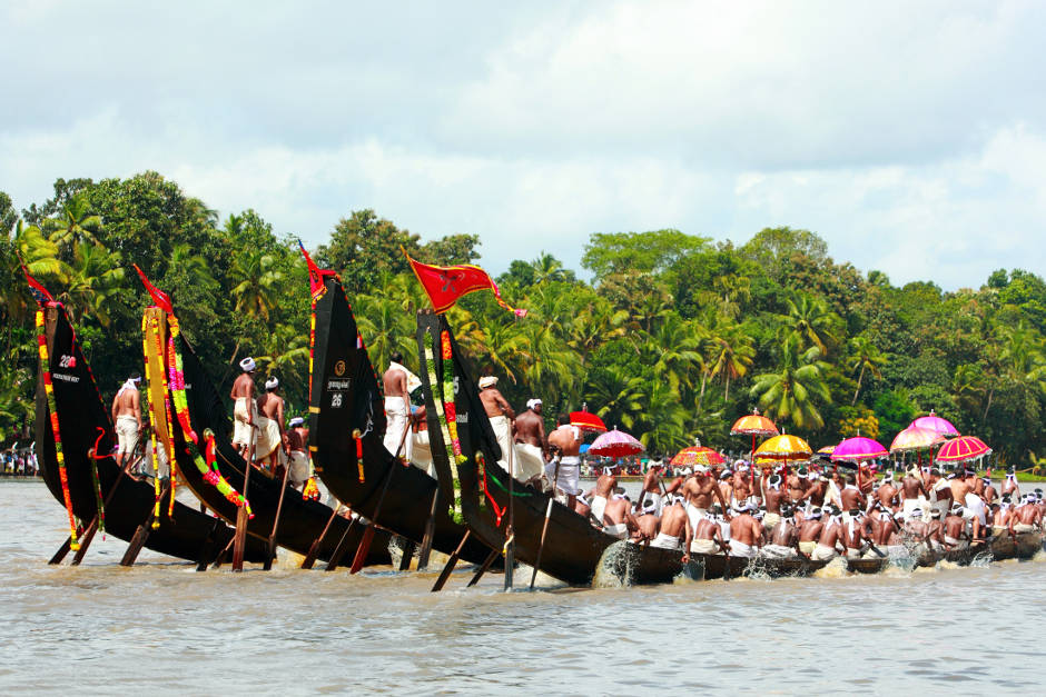 Snake boat races for Onam, Indian Festivals, Karma Group Blog