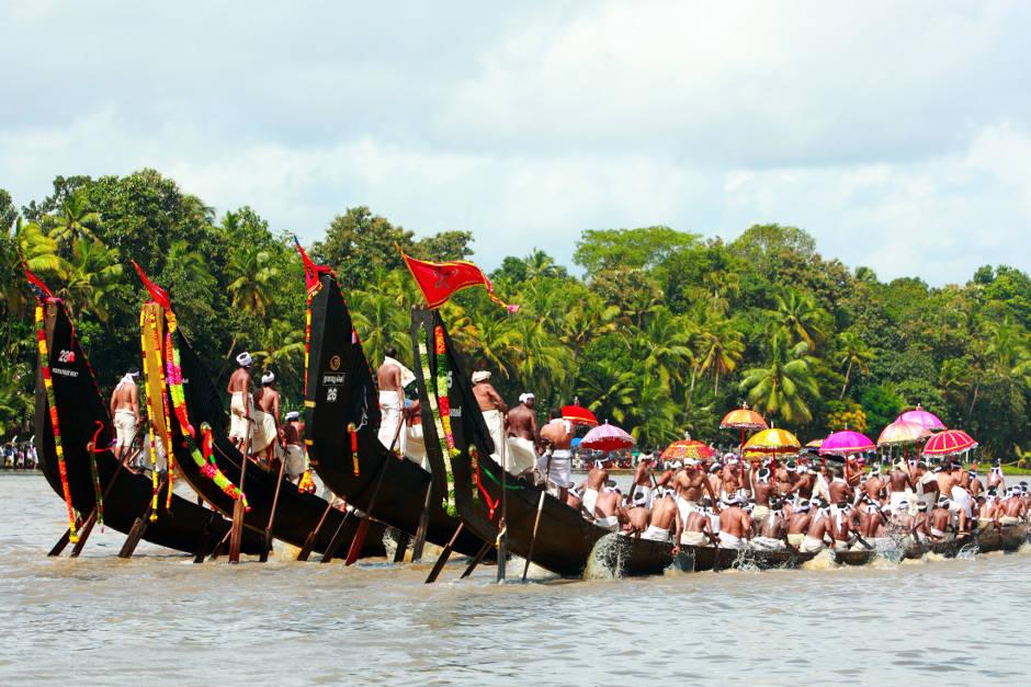 Snake boat races for Onam, Indian Festivals, Karma Group Blog