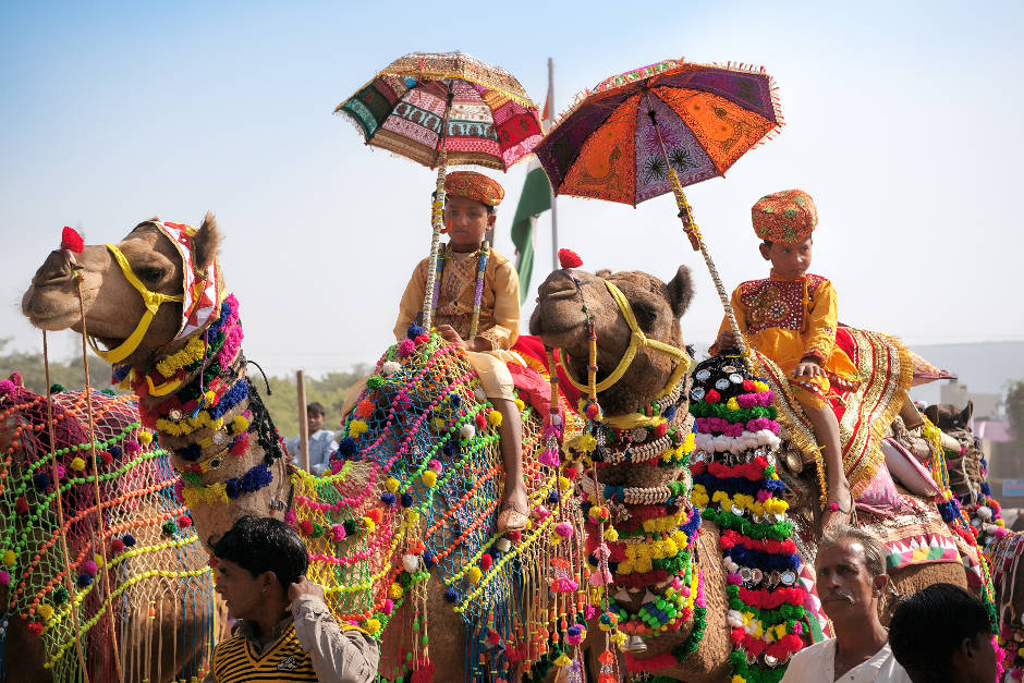 The Pushkar Camel Fair, Indian Festivals, Karma Group Blog