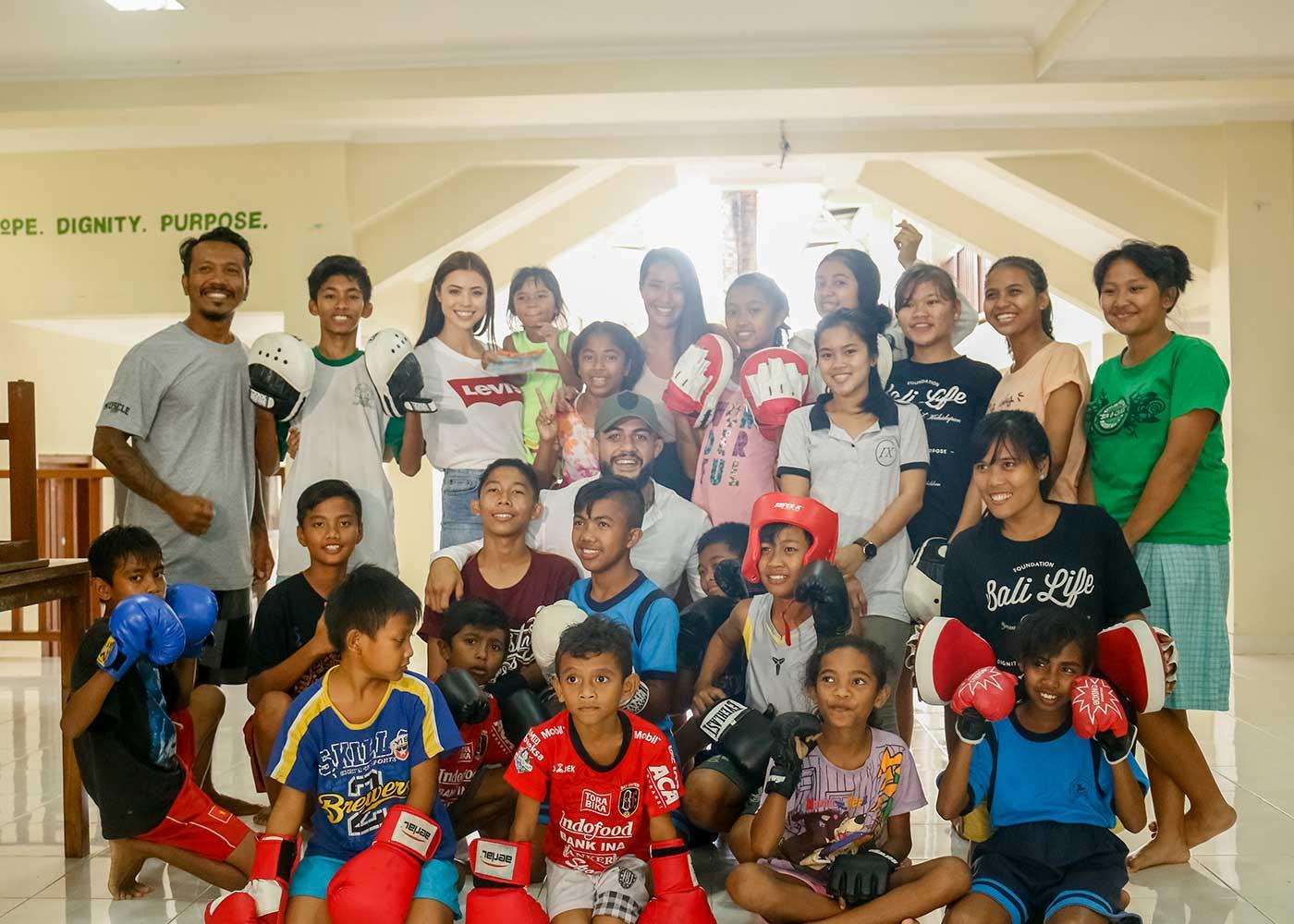 Tyson Pedro Bali Life Foundation