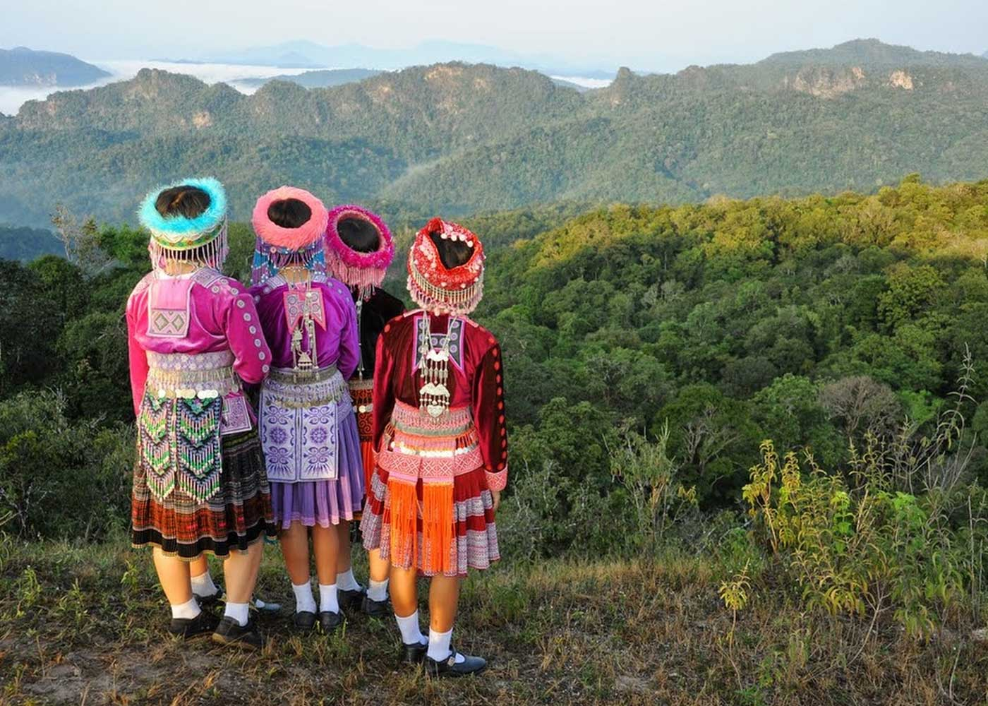 Hmong Hill Tribe