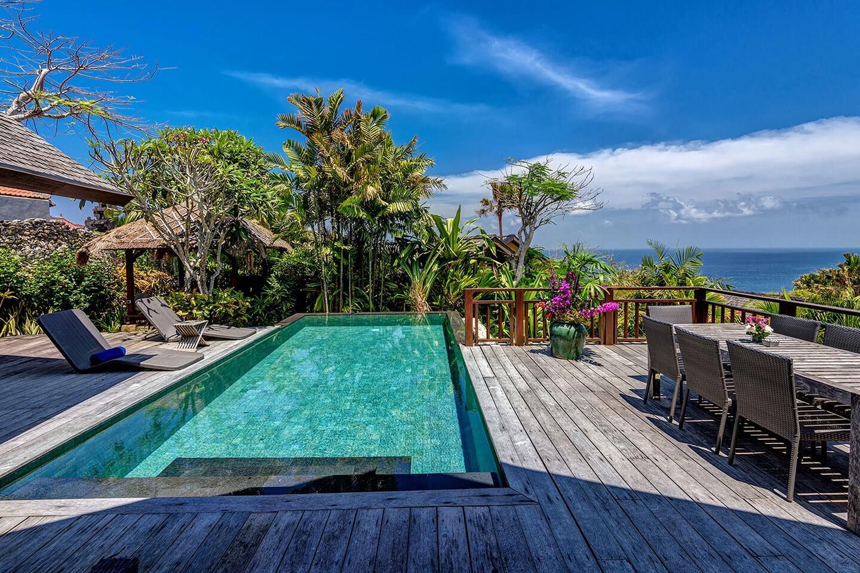 Book karma kandara 5 star luxury beach resort on bukit for Villas with swimming pool