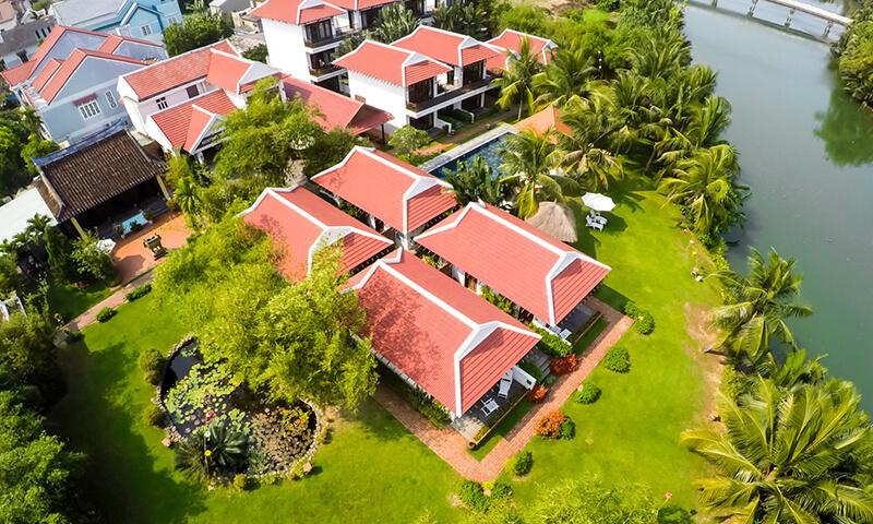 Hoi An aerial view