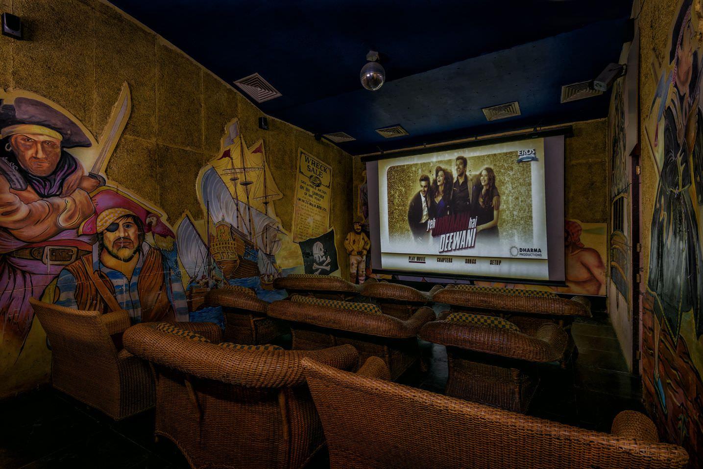 Karma Royal Haathi Mahal In House Cinema