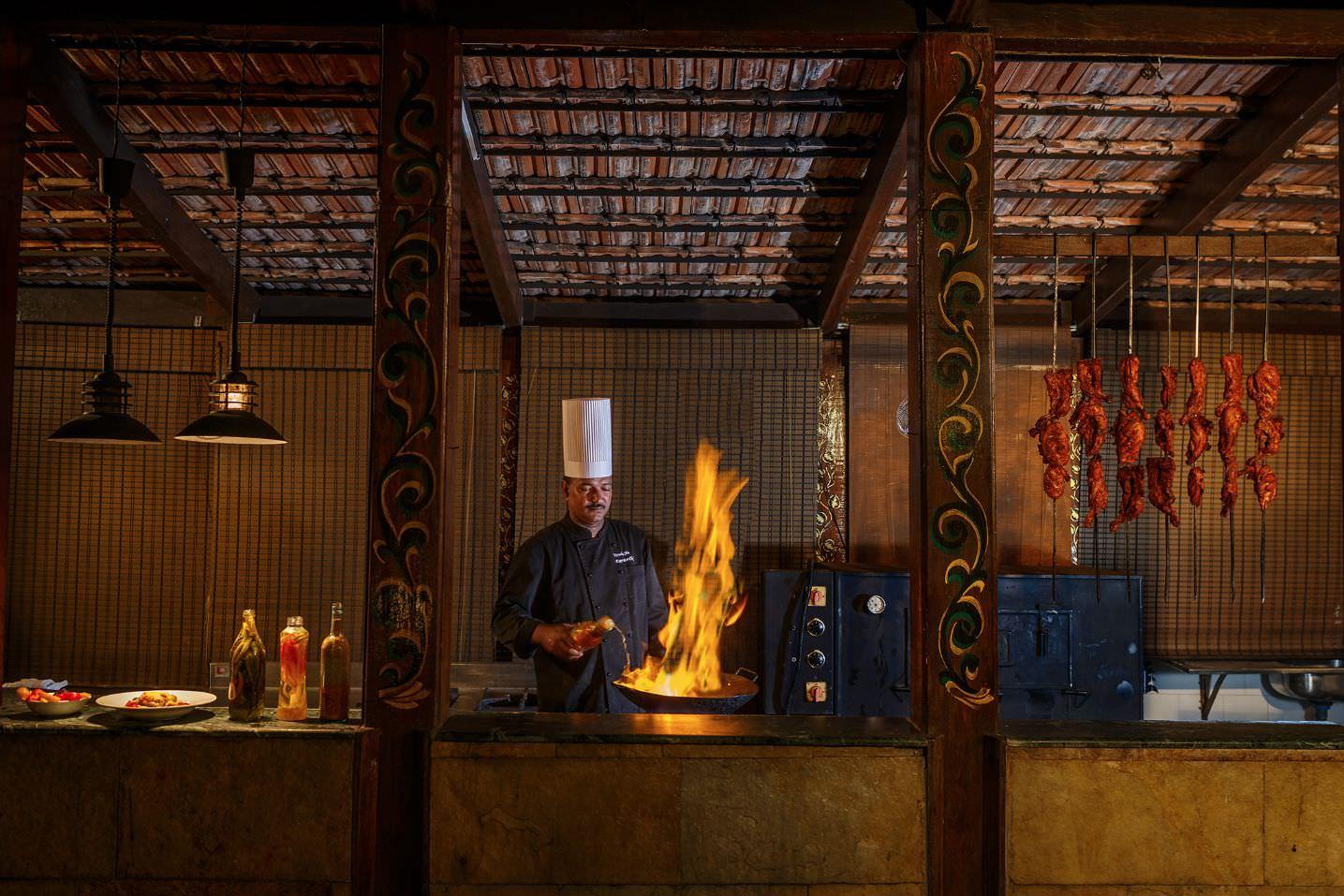 Karma Royal Haathi Mahal Casa Lisboa Chef