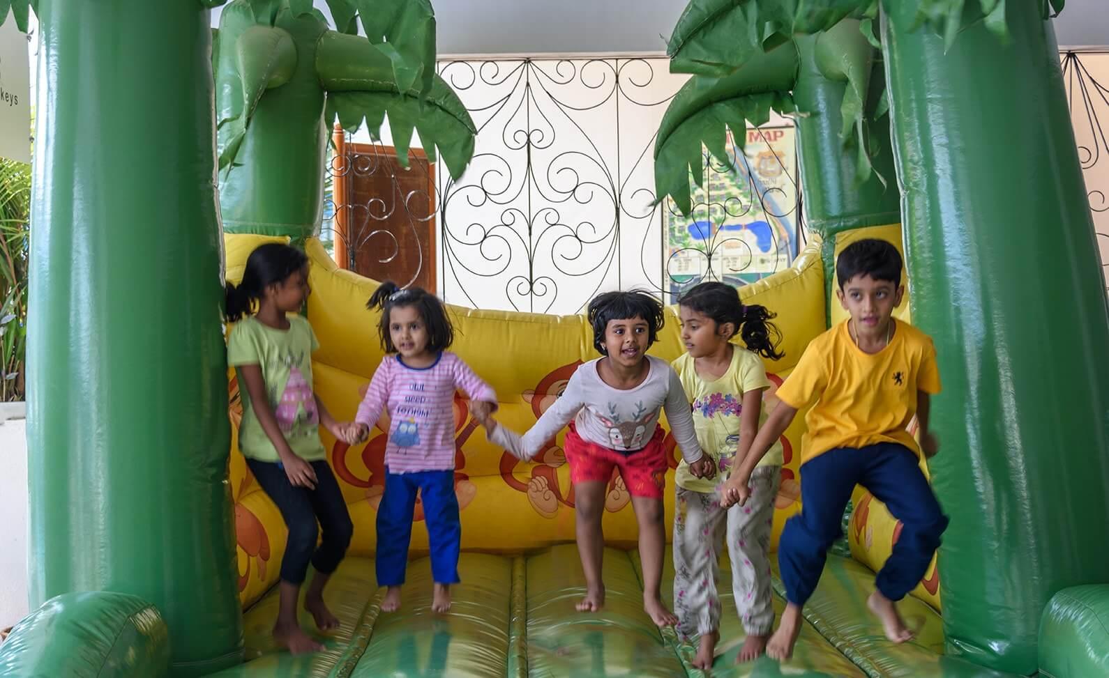 Three Monkeys Kids Club
