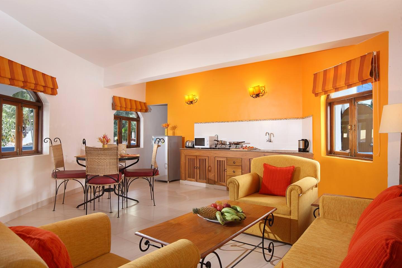 Karma Royal MonteRio Accommodation Lounge Kitchen Area