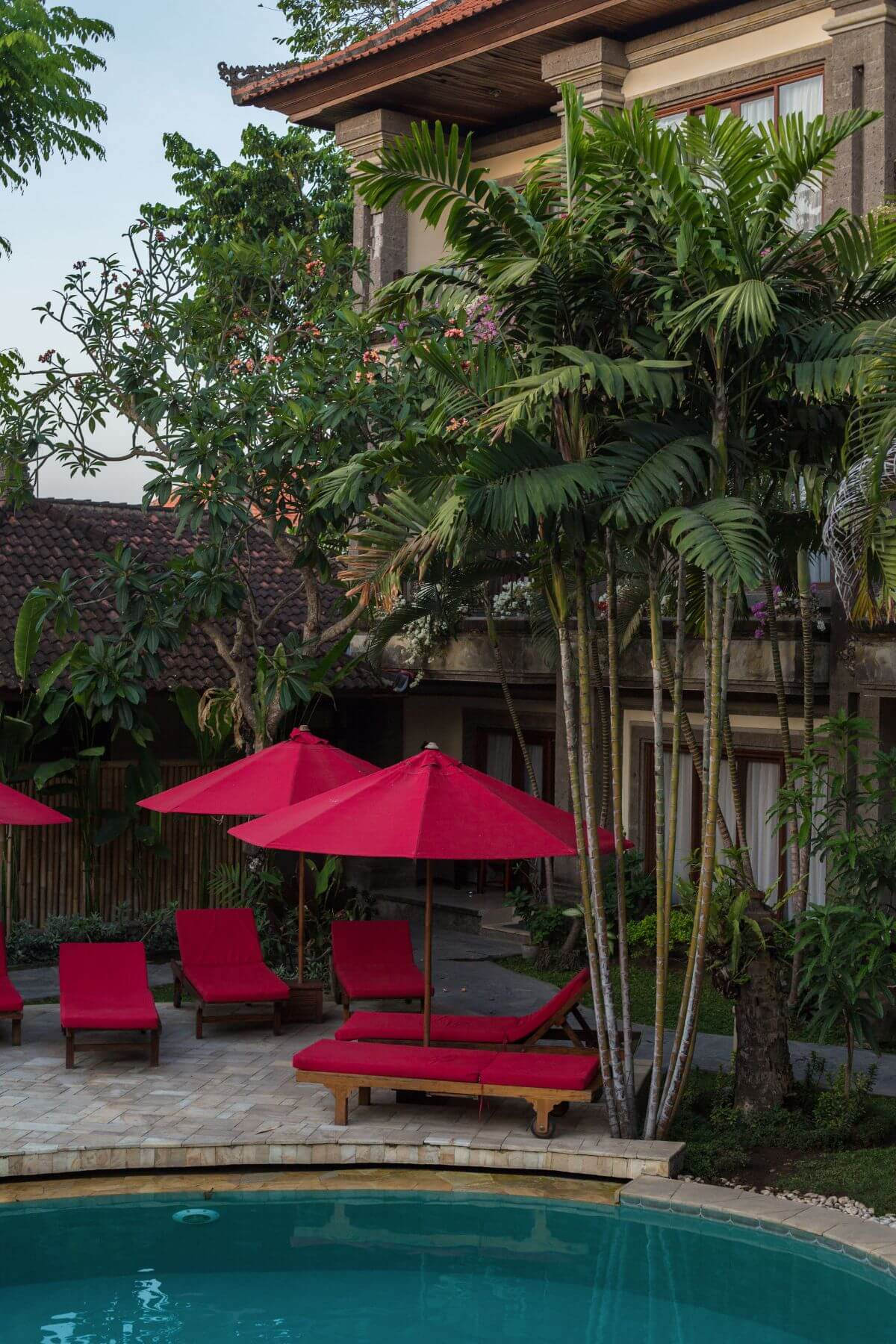 Karma Royal Sanur Poolside Loungers