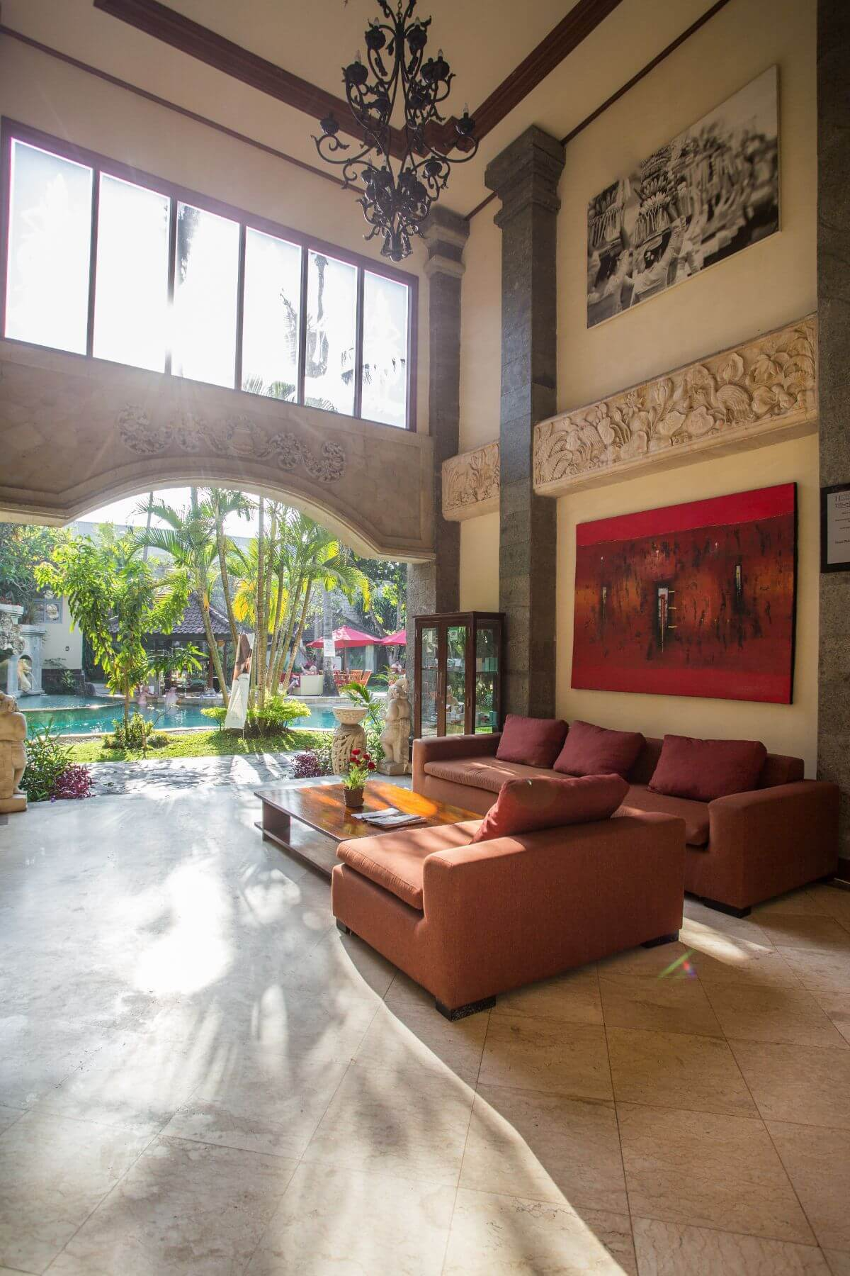 Karma Royal Sanur Entrance Lobby