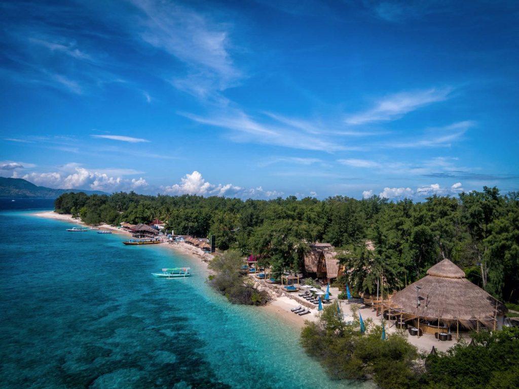 relaxing enjoy reef Aerial view