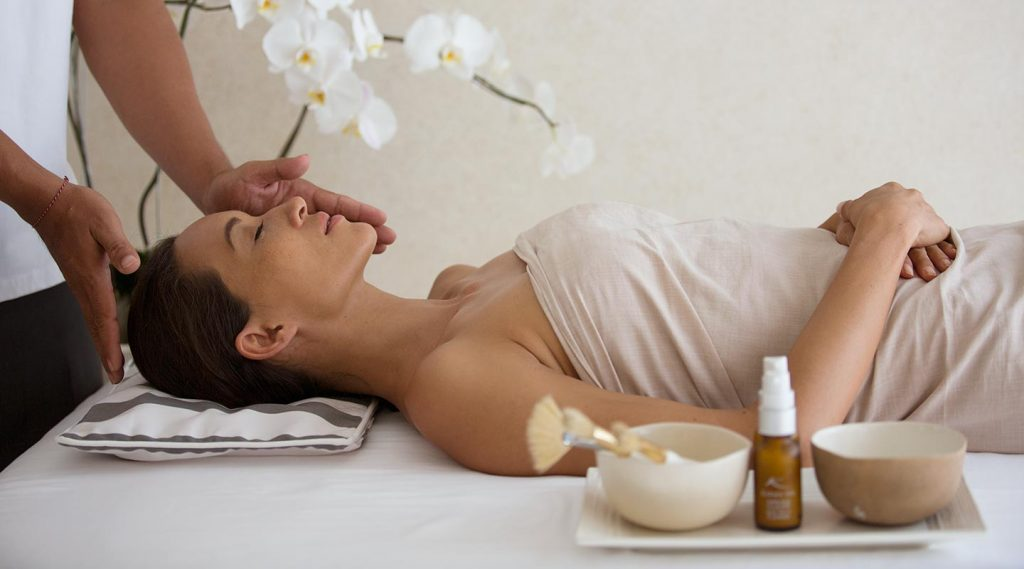 luxury and relaxing spa and treatment