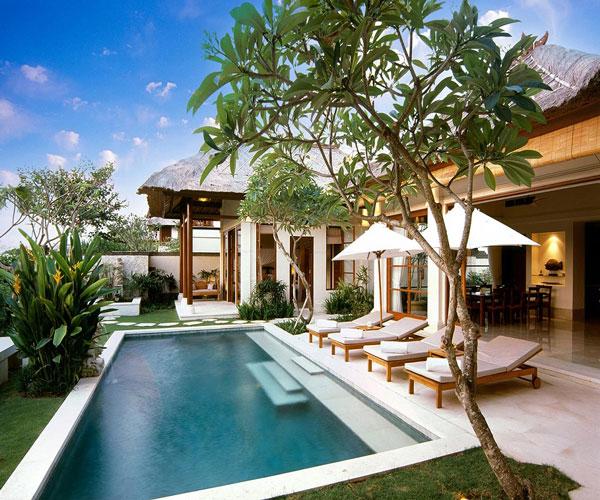 Karma Jimbaran Luxury crystal clear pool Villa