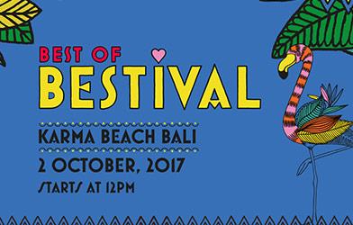 Best Bestival Karma Beach bali