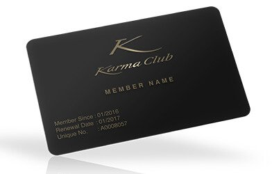 Card member to access great Karmagroup offers