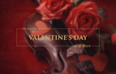 10 course musical, valentine's day at di Mare