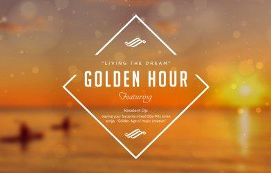 Living The Dream, Golden hour, Featuring Resident Djs, Carousel banner