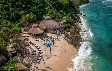 karma Beach overview
