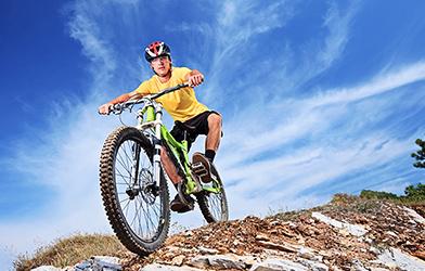 Karma Bicycle Downhill
