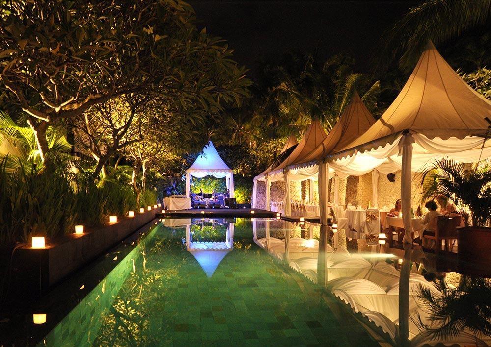 Karma Lounge Poolside Wedding