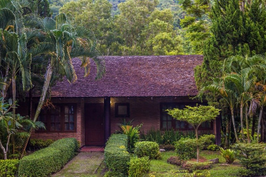 Karma Cottage in tropical gardens