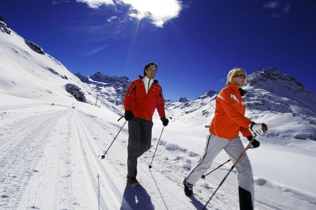 Couple Play Ski at karma