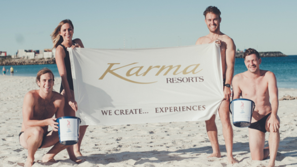 karma Resorts Channel Swim
