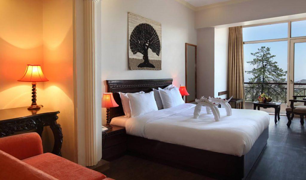 Karma Royal Shimlaa Bedroom