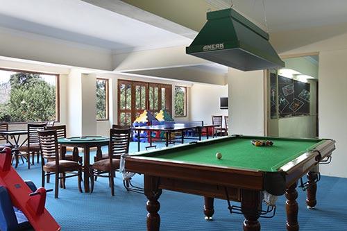 Karma Royal Shimlaa Recreation Room