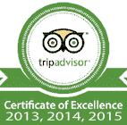 tripadvisorcertificateofexcellence2013-2014-2015-square