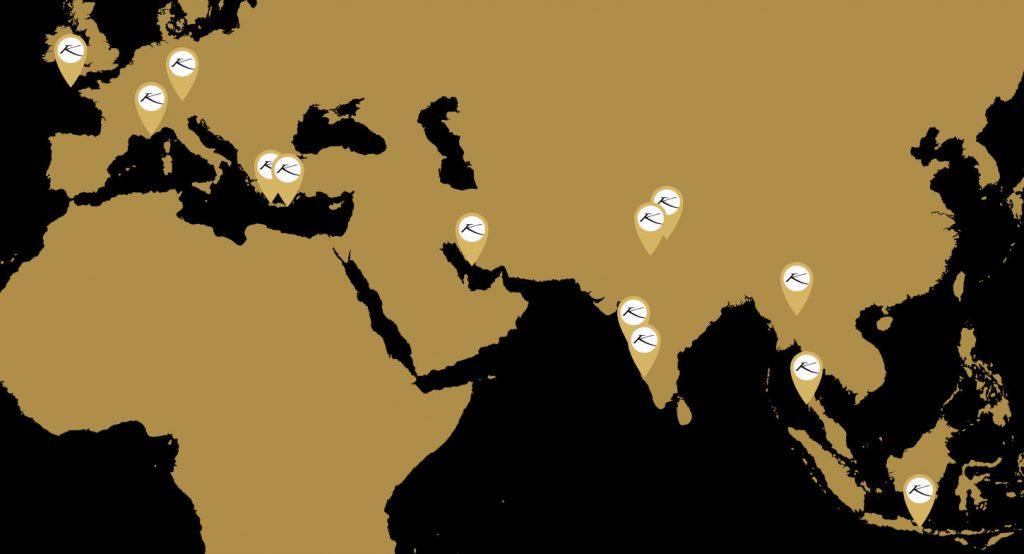 World Map Karma