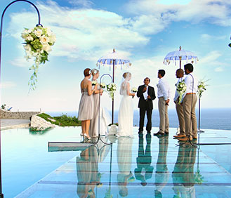 Karma wedding moment pool