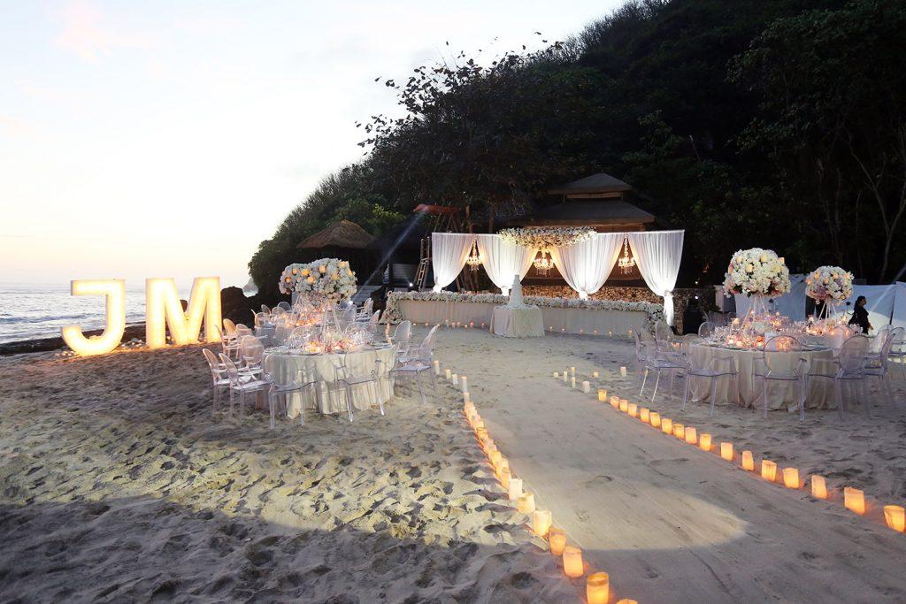Karma Beach Bali Billionaires Wedding Package