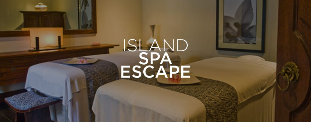 Island Spa Escape banner