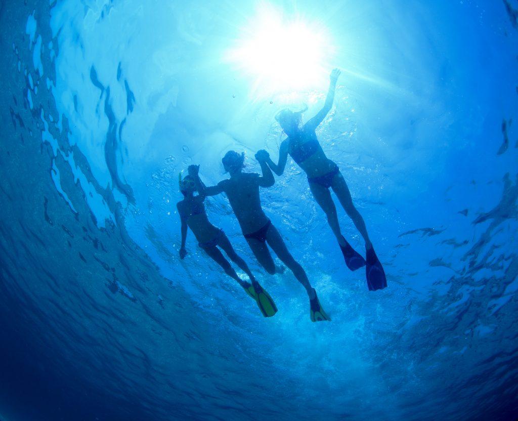 Diving at Karma Beach