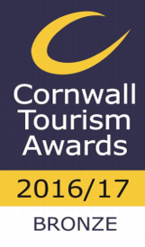 Cornwall Tourism Awards 2016/17 BRONZE