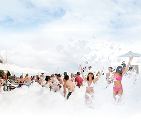 Bikini Foam Party