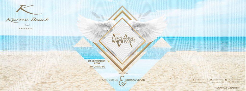 Fierce Angel White Party Logo